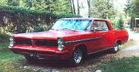 1963 Pontiac Parisienne 4d HT<br> 235cid+TH200