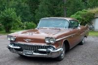 1958 Cadillac Sedan de Ville<br>365cid+Hydramatic