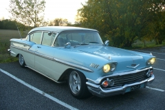 1958 Chevrolet Bel Air 4d Sedan<br>283cid+manual