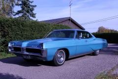 1967 Pontiac Bonneville 4dHT<br>400cid + TH400